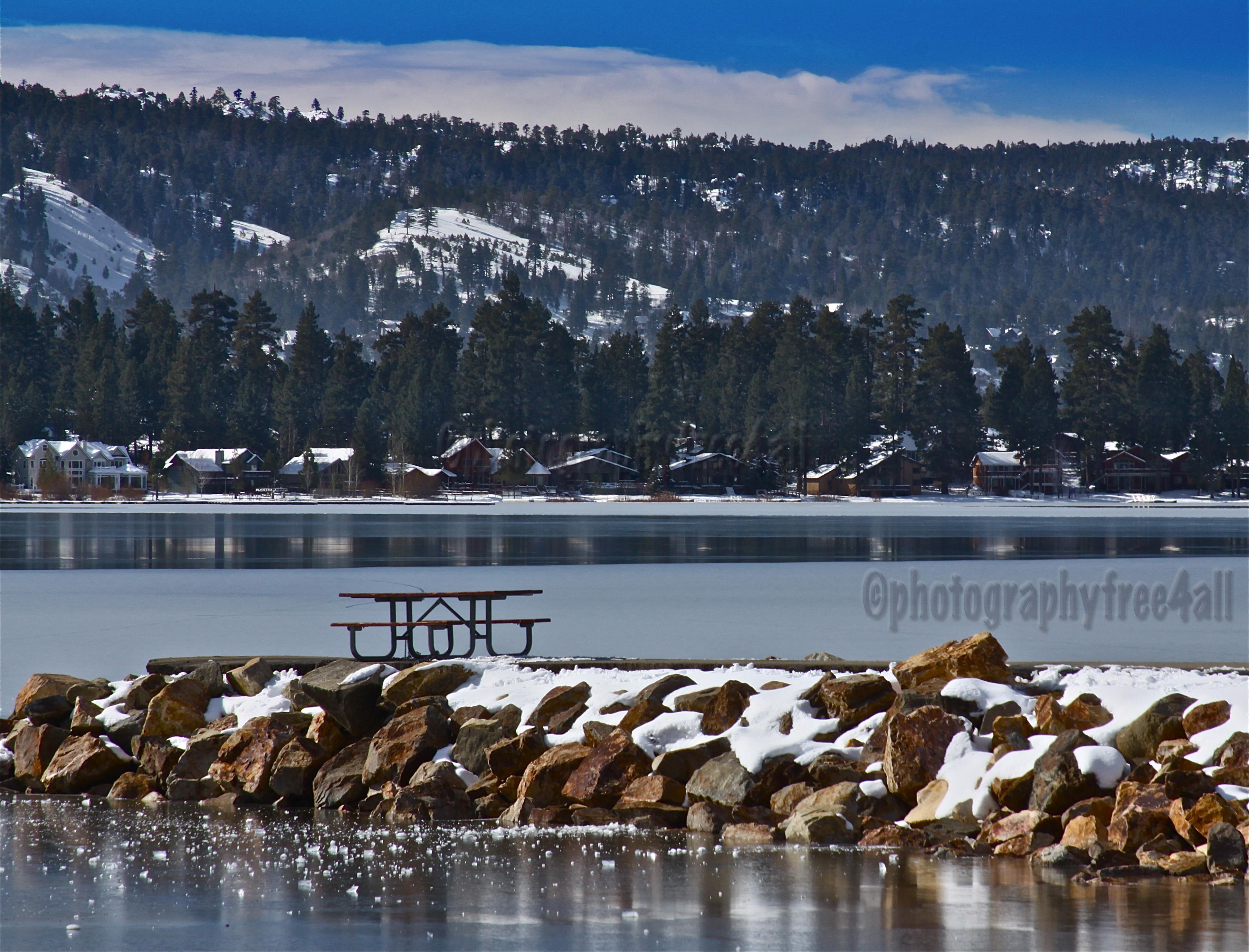 big bear lake a winter wonderland photographyfree4all. Black Bedroom Furniture Sets. Home Design Ideas