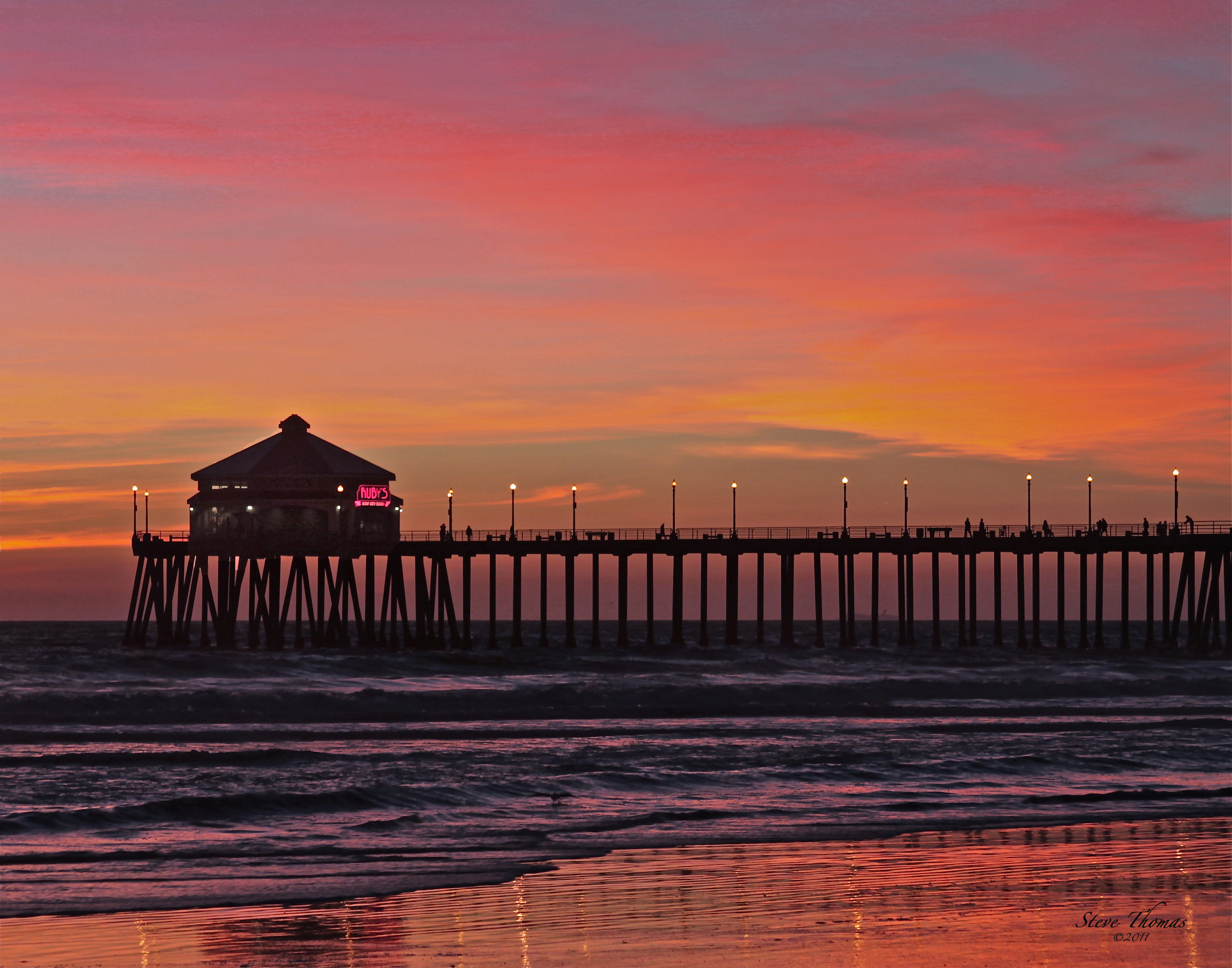 JUST ANOTHER HUNTINGTON BEACH SUNSET