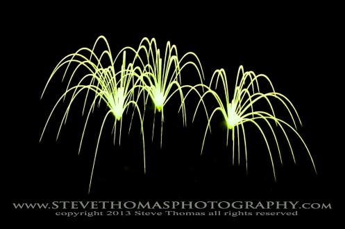 FIREWORKS IN COLOR