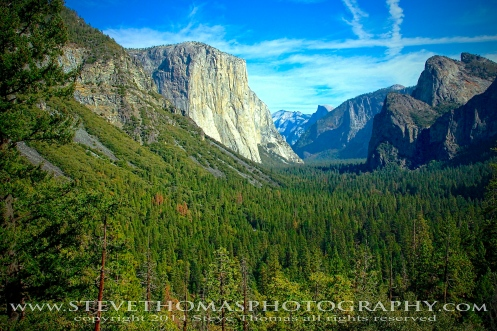 YPSEMITE NATIONAL PARK - THE TUNNEL VIEW