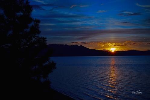 TAHOE SETTING SUN
