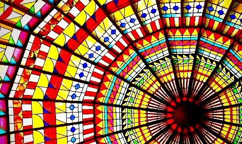 stained-glass-dome-1
