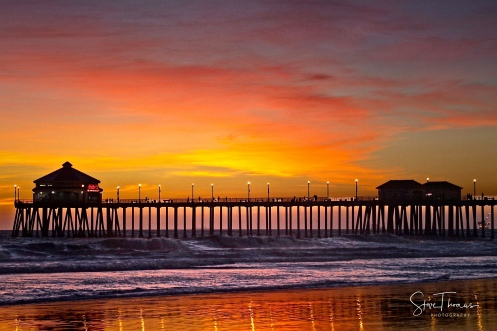 HUNTINGTON BEACH CORAL SUNSET